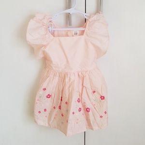 Baby Gap pink girls Easter dress NWT 18-24m